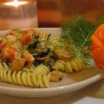 Fusilli Gratinati con Zucchine e Fiori di Zucca ricetta di Benedetta Parodi