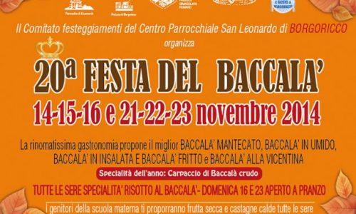 Festa del baccala' a Borgoricco (PD)