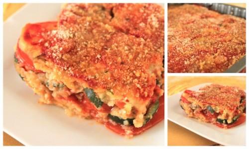 Parmigiana di Zucchine con pomodoro