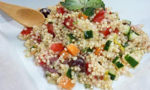 Insalata di quinoa Caprese