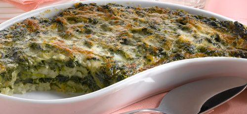 Tiramisù con spinaci