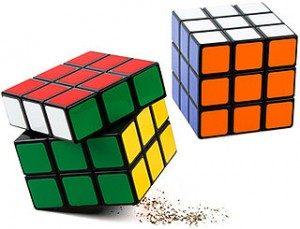 Cubo di Rubik in cucina