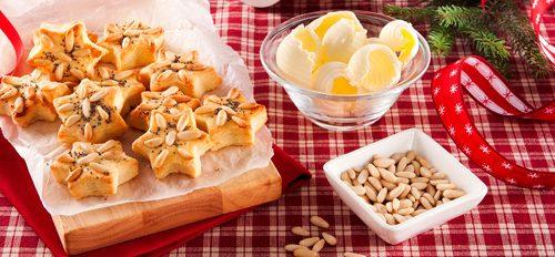 Biscotti al burro e formaggio