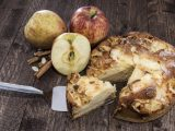 Fresh baked Apple Cake