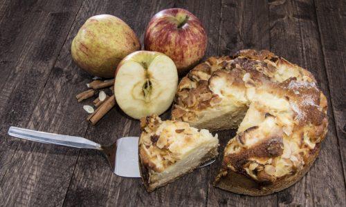 Torta di mele senza uova e senza burro