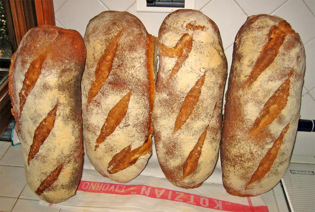 Pane alla zucca e patate