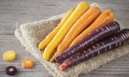 Le carote in origine erano…….
