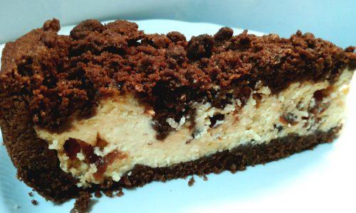 Sbriciolata al cacao con ripieno morbido