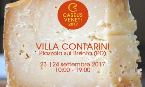 Caseus Veneti: formaggi del Veneto a Villa Contarini di Piazzola sul Brenta (Pd)