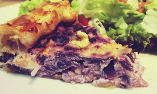 Torta salata con barbabietole Zuccato