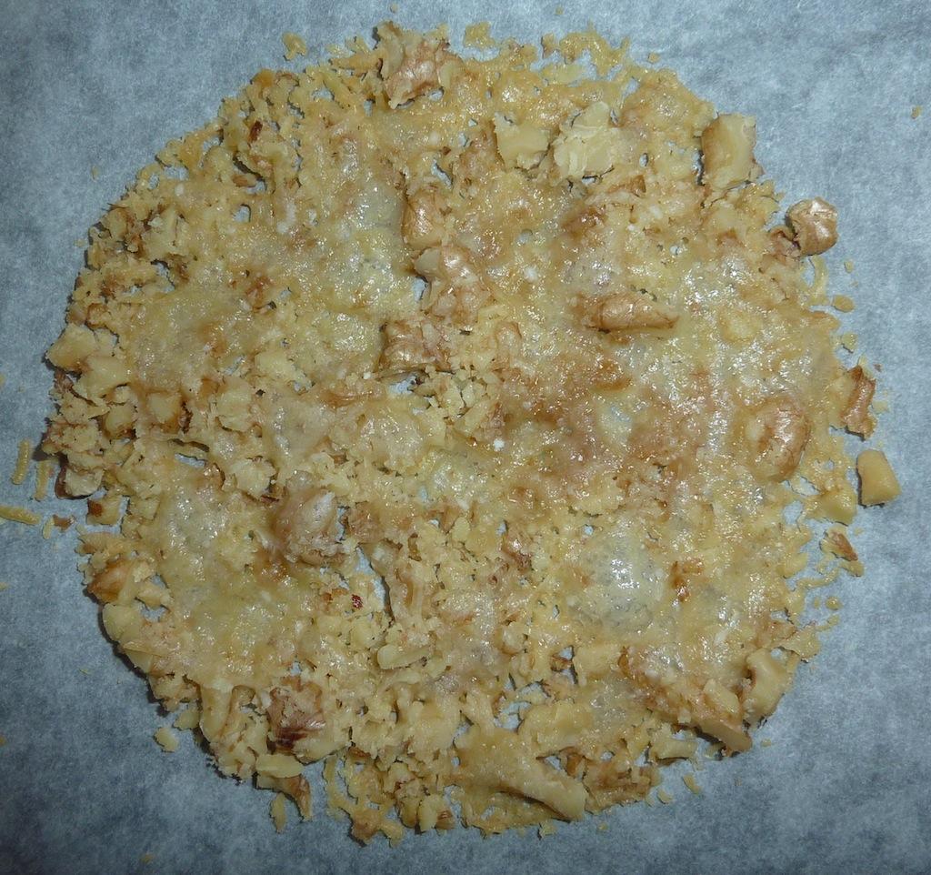Sfogliatine di parmigiano al forno