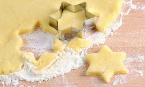 Pasta frolla con olio e senza burro