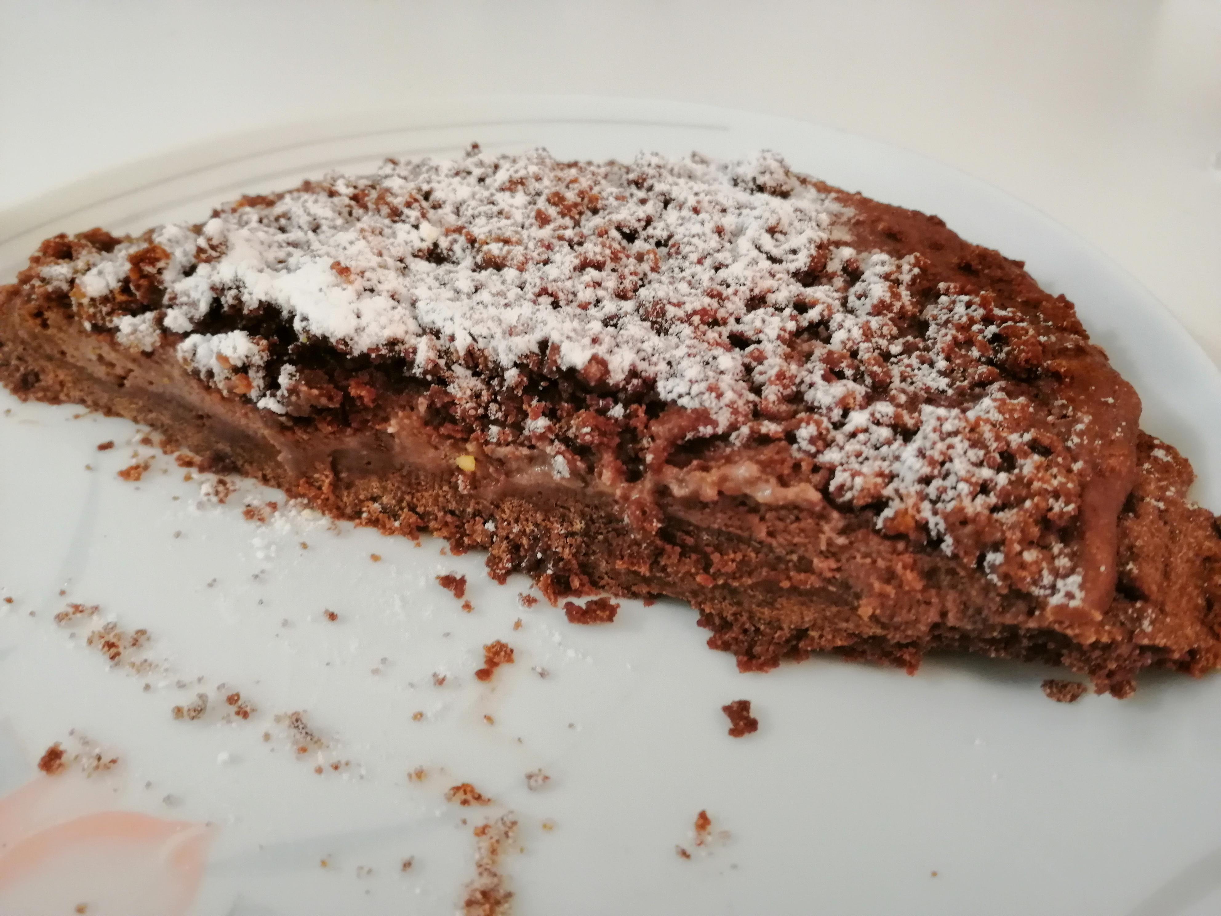 Sbriciolata al cioccolato