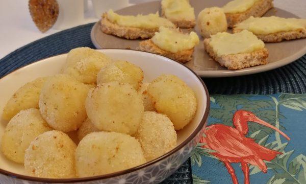 Polpette di merluzzo e patate.
