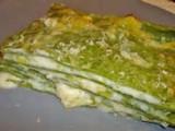 Lasagne verdi di pesto spinaci e ricotta