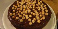 Torta nutella e nocciole di Luisanna Messeri