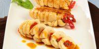 Rotolo di pollo con i peperoni