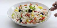 10 tipi di Insalate di riso veloci