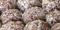 Pasticcini al cocco e nutella