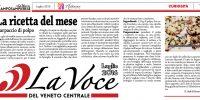 Carpaccio di polpo sulla Voce del Veneto Centrale