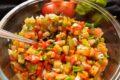 Salsa cruda di verdure