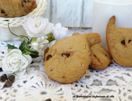 Biscottini tipo gocciole.