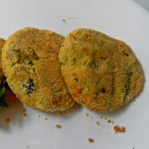 Medaglioni di zucchine e provola