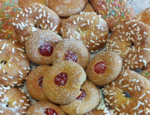 Biscotti di pastafrolla fantasia.