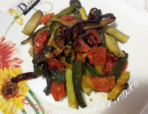 Zucchine a fiammifero al forno