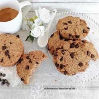 Biscotti integrali all'acqua