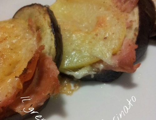 Saccottini melanzane e patate.