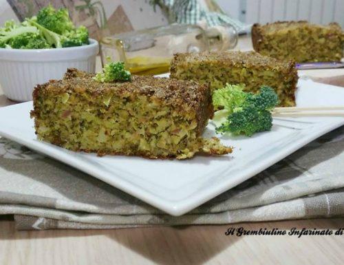 Sformato di broccoletti siciliani.