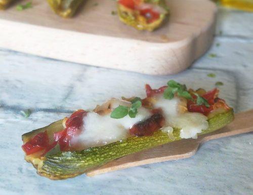 Zucchine semplici al forno