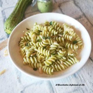 Fusilli al pesto di zucchine