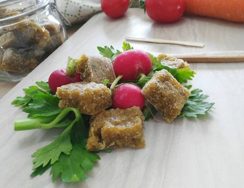 Dado vegetale senza sale fatto in casa