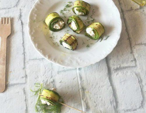 Bocconcini di zucchina con ricotta
