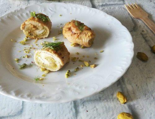 Sottilissime di pollo ai pistacchi