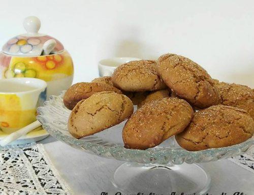 Biscotti morbidi ricotta e nutella