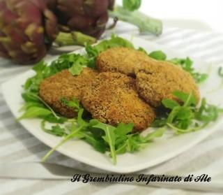Medaglioni carciofi e patate