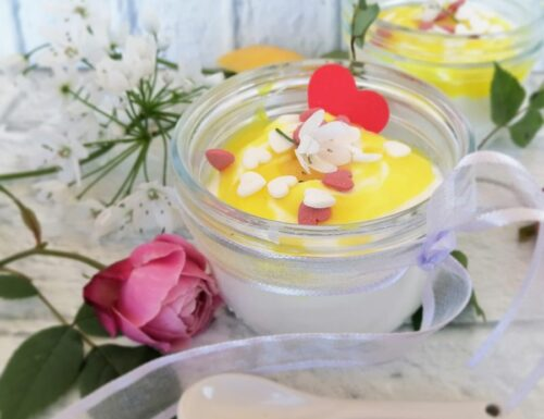 Mousse di yogurt al limone