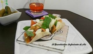 Mini tacos di riso