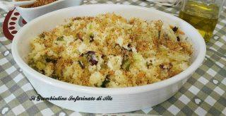 cous cous croccante con insalata