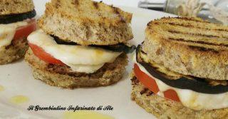 Medaglioni di pane alla parmigiana