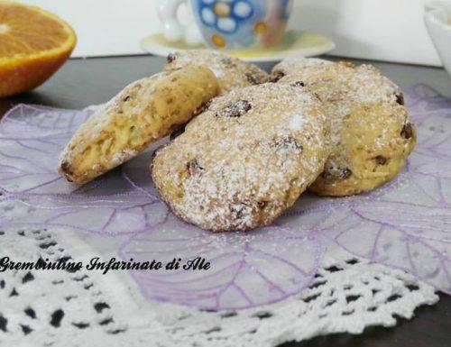 Biscotti alla quinoa cotta e arancia
