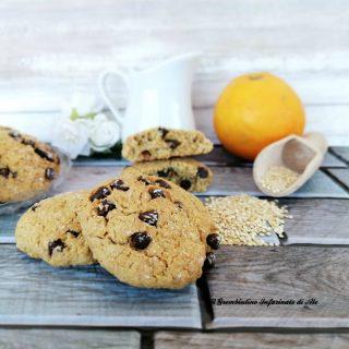Biscotti alla quinoa e arancia