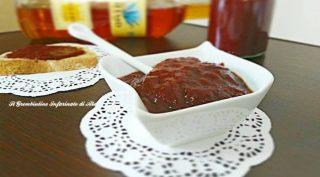 Marmellata di fragole con succo d'agave