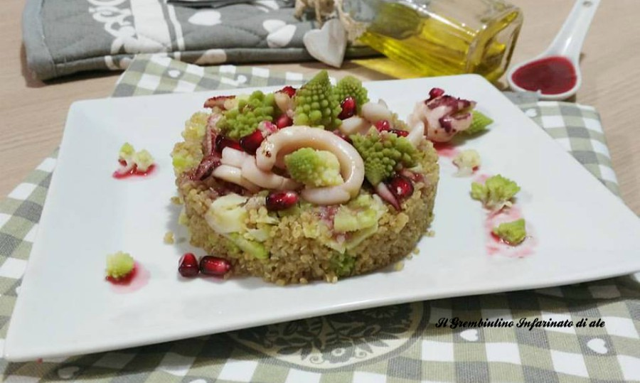 Quinoa integrale armoniosa
