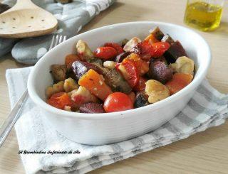 Teglia al forno di verdure invernali