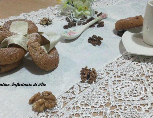 Ciambelline integrali con miele e zenzero