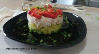 Tortino di gallinella di mare e peperoni